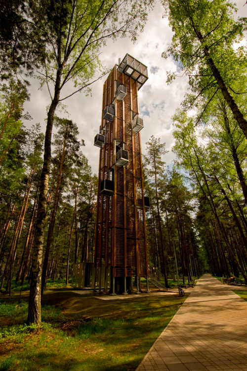 ARHIS Architects: Observation Tower in Jurmala