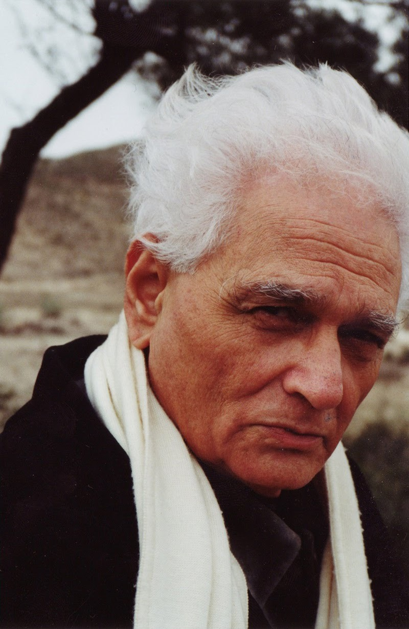 "ratak-monodosico:  Jacques Derrida, French philosopher - died this day (Oct 9) in 2004 from cancer…   ""Monsters cannot be announced. One cannot say: 'here are our monsters,' without immediately turning the monsters into pets.""   Jacques Derrida (July 15, 1930 – October 9, 2004) was a French philosopher, born in French Algeria. He developed the critical theory known as deconstruction and his work has been labeled as post-structuralism and associated with postmodern philosophy.   His output of more than 40 published books, together with essays and public speaking, has had a significant impact upon the humanities, particularly on literary theory and continental philosophy. Perhaps Derrida's most quoted and famous assertion, which appears in an essay on Rousseau in his book Of Grammatology (1967), is the statement that ""there is nothing outside the text"" (il n'y a pas de hors-texte), meaning that there is nothing outside context. Critics of Derrida have quoted it as a slogan to characterize and stigmatize deconstruction. Deconstruction has become associated with the attempt to expose and undermine the oppositions and paradoxes on which particular texts, philosophical and otherwise, are founded. He frequently called such paradoxes ""binary oppositions."" Derrida's strategy involved explicating the historical roots of philosophical ideas, questioning the ""metaphysics of presence"" that he sees as having dominated philosophy since the ancient Greeks, careful textual analysis, and attempting to undermine and subvert the paradoxes themselves. Derrida's work has had implications across many fields, including literature, architecture (in the form of deconstructivism), sociology, and cultural studies. Particularly in his later writings, he frequently addressed ethical and political themes, and his work influenced various activist and other political movements. His widespread influence made him a well-known cultural figure, while  his approach to philosophy and the purported difficulty of his work also  made him a figure of some controversy. His work has been seen as a challenge to the unquestioned assumptions of the Western philosophical tradition and Western culture as a whole. On multiple occasions, Derrida referred to himself as a historian: Contrary to what some people believe or have an interest in making  believe, I consider myself very much a historian, very historicist […]  Deconstruction calls for a highly ""historian's"" attitude (Of Grammatology, for example, is a history book through and through). Derrida's work centered on challenging unquestioned assumptions of the Western philosophical tradition and also more broadly to Western culture as a whole. By questioning the fundamental norms and premises of the dominant discourses, and trying to modify them, he attempted to democratize the university scene and to politicize it. During the American 1980s culture wars, this would attract the anger of politically conservative and right-wing intellectuals who were trying to defend the status quo. At the very beginning of his philosophical career Derrida was concerned to elaborate a critique of the limits of phenomenology. His first lengthy academic manuscript, written as a dissertation for his diplôme d'études supérieures and submitted in 1954, concerned the work of Edmund Husserl. In 1962 he published Edmund Husserl's Origin of Geometry: An Introduction, which contained his own translation of Husserl's essay. Derrida first received major attention outside France with his lecture,  ""Structure, Sign, and Play in the Discourse of the Human Sciences,""  delivered at Johns Hopkins University in 1966 (and subsequently included in Writing and Difference). The conference at which this paper was delivered was concerned with structuralism,  then at the peak of its influence in France, but only beginning to gain  attention in the United States. Derrida differed from other  participants by his lack of explicit commitment to structuralism, having  already been critical of the movement. He praised the accomplishments  of structuralism but also maintained reservations about its internal  limitations; this has led US academics to label his thought as a form of post-structuralism. Near the beginning of the essay, Derrida argued:  (…) the entire history of the concept of structure, before the  rupture of which we are speaking, must be thought of as a series of  substitutions of centre for centre, as a linked chain of determinations  of the centre. Successively, and in a regulated fashion, the centre  receives different forms or names. The history of metaphysics, like the history of the West, is the history of these metaphors and metonymies. Its matrix […] is the determination of Being as presence in all senses of this word. It could be shown that all the names  related to fundamentals, to principles, or to the centre have always  designated an invariable presence – eidos, archē, telos, energeia, ousia (essence, existence, substance, subject), alētheia, transcendentality, consciousness, God, man, and so forth. — ""Structure, Sign and Play"" in Writing and Difference, p. 353.  The effect of Derrida's paper was such that by the time the conference  proceedings were published in 1970, the title of the collection had  become The Structuralist Controversy. The conference was also where he met Paul de Man, who would be a close friend and source of great controversy, as well as where he first met the French psychoanalyst Jacques Lacan, with whose work Derrida enjoyed a mixed relationship."