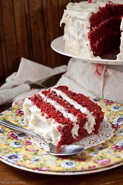 gastrogirl:  red velvet layer cake.