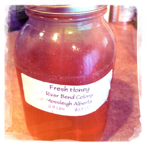 The simplest of things are always the best = local honey :)