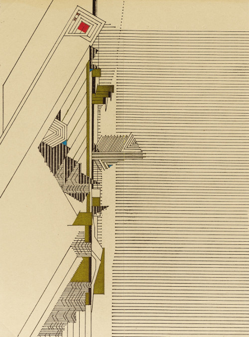 freundevonfreunden:  Letterheady - Frank Lloyd Wright's Stationary, 1946  A sheet of architect Frank Lloyd Wright's personal stationery; a much larger version of which is here. His studio letterhead has been featured on Letterheady previously. (via Letterheady)