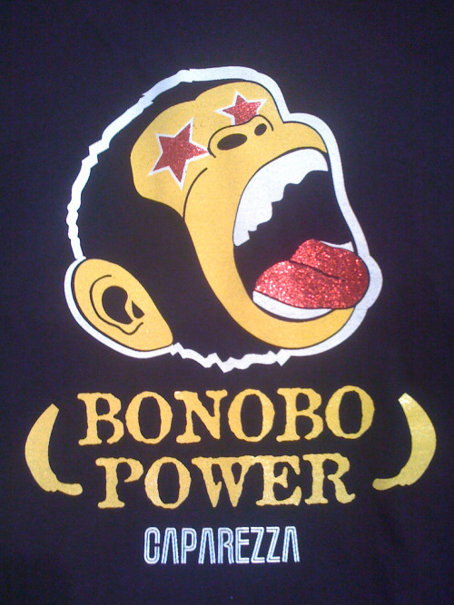 ingloriouspan:  Bonobo Power!