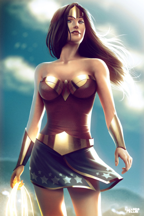 comicbookdeviant:  Wonder Woman // Art by Lenadro Franci / Website  .