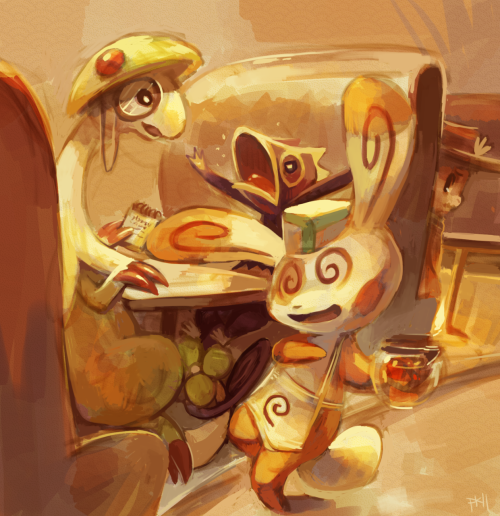 purplekecleon:  I liked this one! I loved the coffee pot