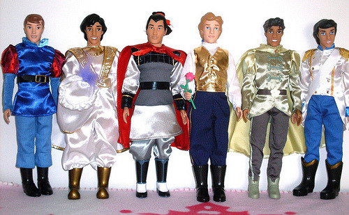 disneydollsandmore:  Disney Store Princes (by Illina86 (2nd album))