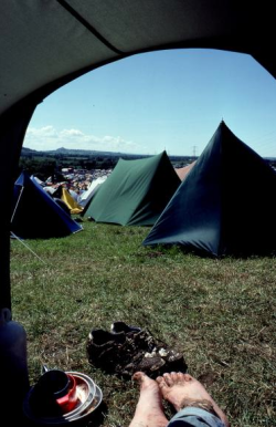 Glastonbury 1990. Not mine, but makes me feel nostalgic nonetheless.