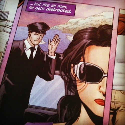 Thumbs up for Huntress #1. (Taken with instagram)