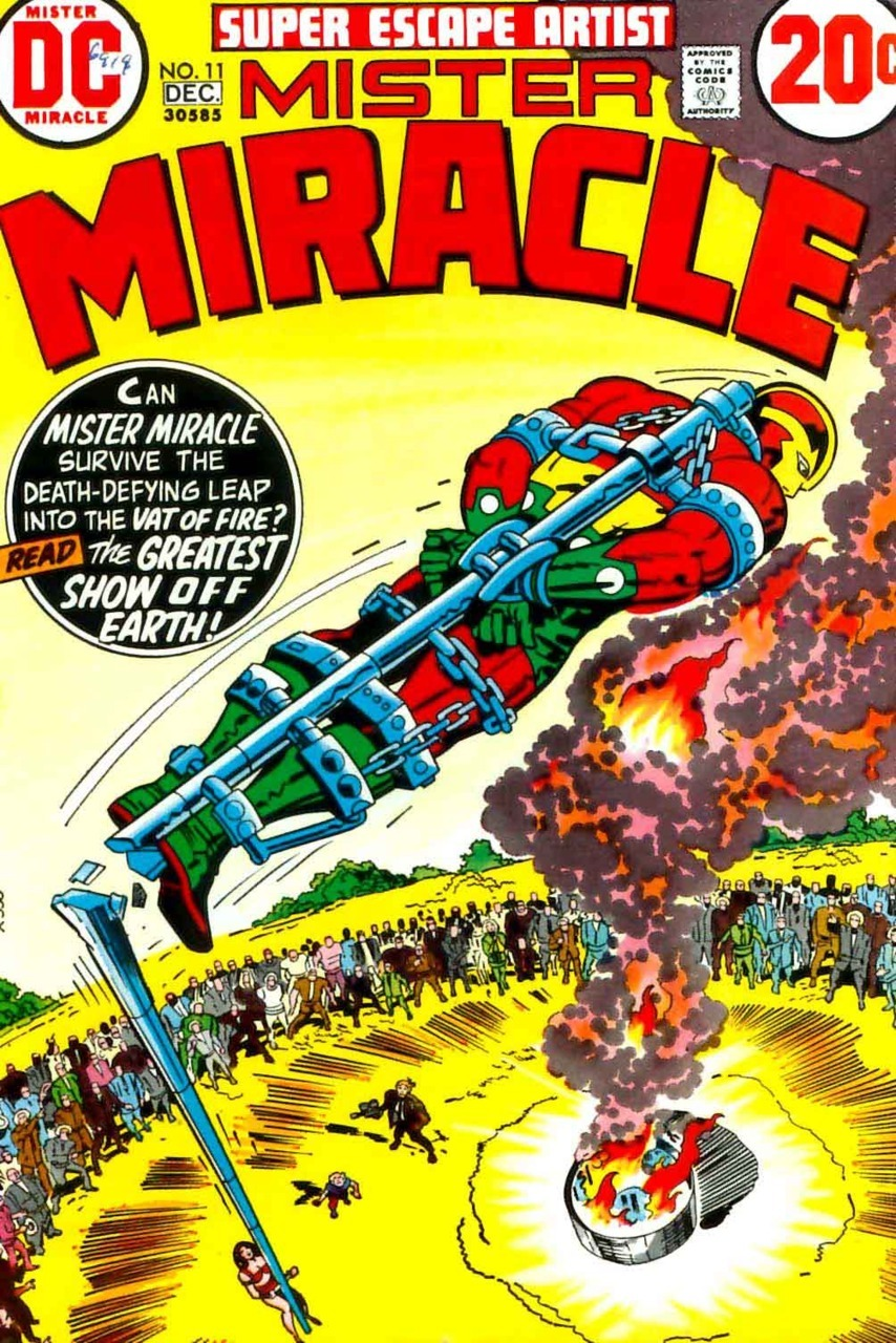 mudwerks:  (via Mister Miracle #11, 1972 - Jack Kirby art & cover | Pencil Ink)