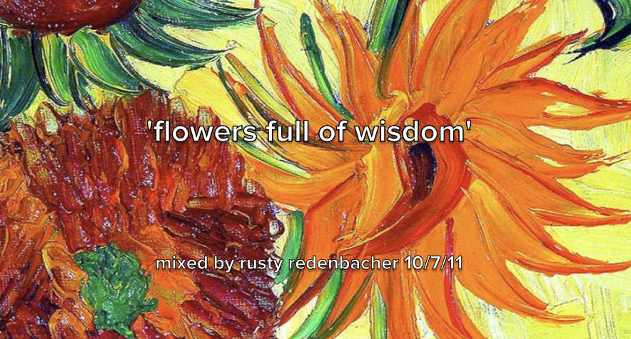 #RustySpins #FreeDownload: 'Flowers Full Of Wisdom'.  I've been talking to y'all about how I love working at WTLC. I'll be getting in the mix for them when I can too. Tryna make sure that funk stays ALIVE.  I feel like part of my responsibility as a DJ is to protect and promote the legacy of some artists. There's artists of all kinds that have legitimately changed my life. I use my time and skills on the decks to make sure the ones I love are never forgotten or overlooked on my watch. Anyway, that's a bit of my philosophy. I'll always be making mixes of artists and songs I love and trying to share them with y'all. It's the best way to show you what they mean to me; let their music speak for them. You can click the pic to download this mix tape. Hope you dig it, Peace and have a great Saturday.   RR