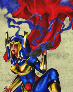 ylchen:   Barda Free/Big Barda  haha wow this picture is awful. especially that background. welp.