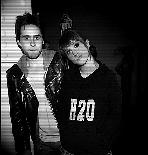 Hayley Williams y Jared Leto