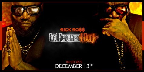Album Artwork: Rick Ross - God Forgives, I Don't