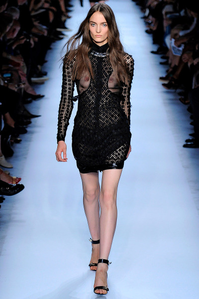 Givenchy Spring RTW 2012 Paris Fashion Week Model: Zuzanna Bijoch