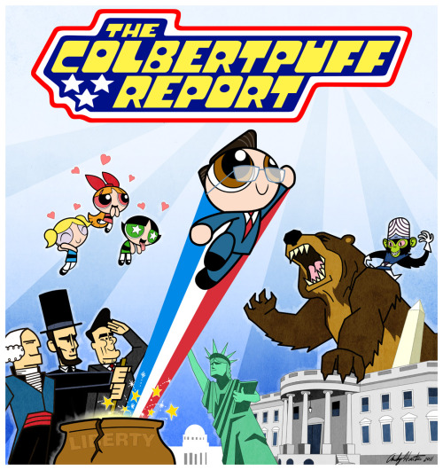 laughingsquid:  The Colbertpuff Report