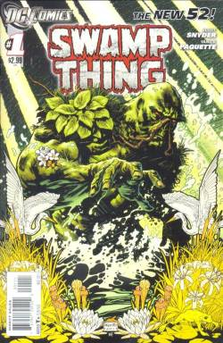 maddiematts:  New Swamp Thing is great. Can't wait for the third issue to come out.