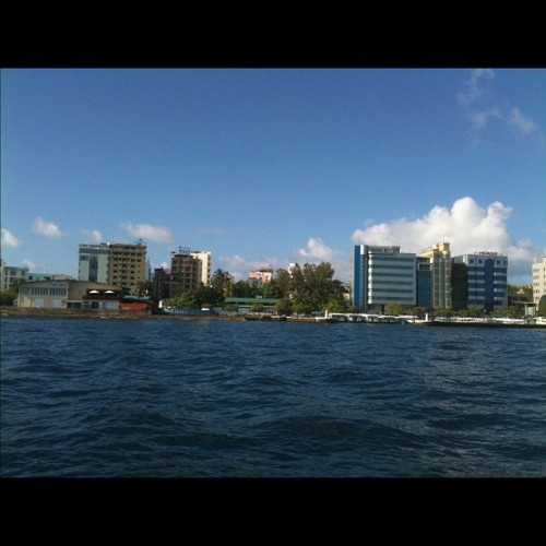 Male' #Maldives  (Taken with Instagram at Male', Maldives)