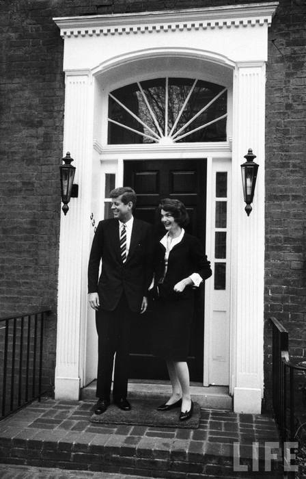 Jack & Jackie at 10 Downing on visiting London. by LIFE Photo Archivevia nantucketyouth |…| whispers-of-immortality
