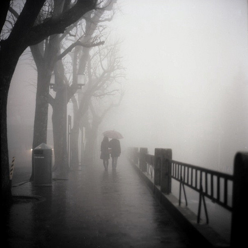 fuckyeahflickrphotos:  foggy city (by Anastasia Glebova)