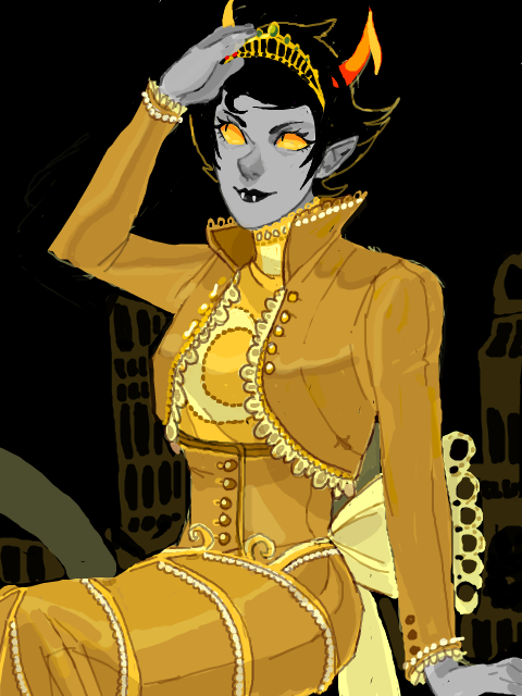 rumminov:  and kanaya! I saved her for last cause I knew she would be fun to draw.
