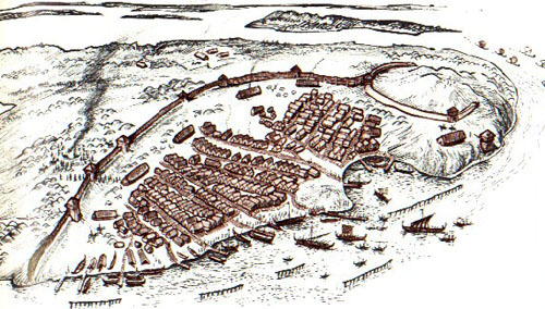 fuckyeahvikingsandcelts:  Birka, a swedish viking town.