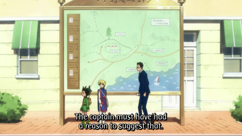 highlight of the week!! is Leorio a giant or Gon and Kurapika are too short…