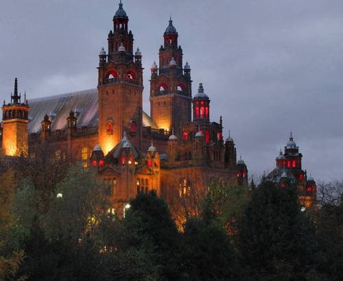 enchantedengland:     I've put up an image of the Kelvingrove Art Gallery and Museum in Glasgow, Scotland, before but this was too mediaeval looking (although it was built around 1900) and Halloweenish to resist.    Kelvingrove Museum has a spectacular gallery of items and is the most popular free attraction in Scotland, and it's one of the most photographed places in Scotland as well. Here is a random Scottish fact for you: There are only six actual cities in Scotland. They are Aberdeen, Dundee, Edinburgh, Glasgow, Inverness, and Stirling. And we're going back to the islands,do not fear. I just had this in my queue and I love it. (Jani Helle on flickr)