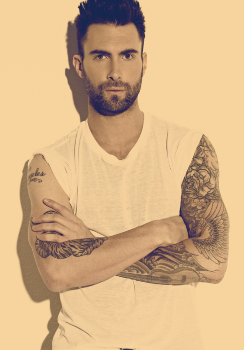 dreamyouup:  Top 25 Attractive Men (In Alphabetical Order)  11. Adam Levine   hoh…..