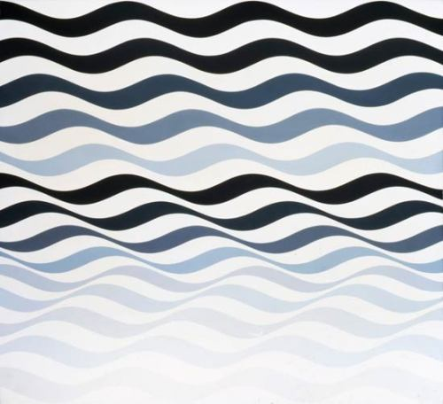 julienfoulatier:  Painting by Bridget Riley.  #op