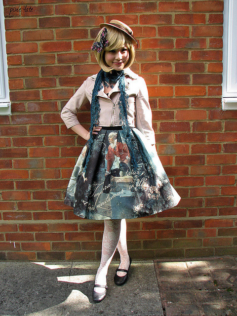 livelovelolitafashion:  daily_lolita: 9 Outfits! Otome, Sweet, Classic and Casual. on We Heart It. http://weheartit.com/entry/15821300 http://daily-lolita.livejournal.com/4932853.html