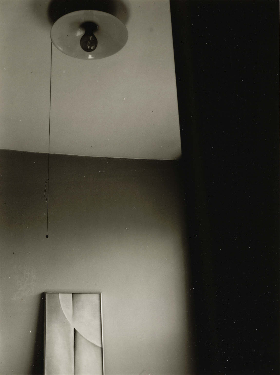 Georgia O'Keeffe Painting with Light Bulb, from Selected Photographs: 1932-1952                                                                                                                                                                                                                                                                                                         Artist:                                                                                                                                Dorothy Norman link