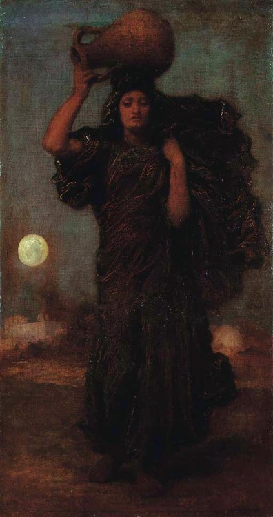 thehazelwood:  A Nile Woman - Lord Frederic Leighton