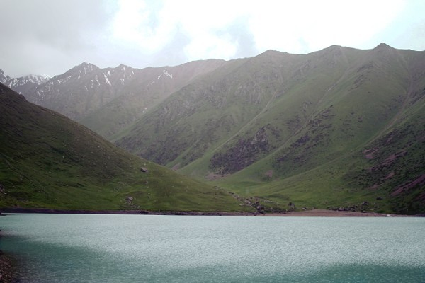 An alpine lake (can't remember the name of the village). Kyrgyzstan