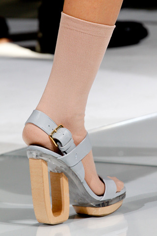 I also loved the nude socks Marni via style.com