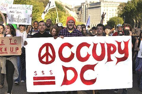 'Occupy' protests spread to Washington | Protesters attempt to enter DC museum to oppose drone strikes by US military, while thousands march again in New York.