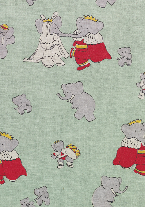 "Good lord I love Babar. (And Celeste, and Pom, Flora, Alexander, Isabelle, Zephir, Cornelius and Pompadour) Despite the variety of interpretations… Is it French Nostalgia for a Pre-WWI world? An ode to Colonialism? Self-referential criticism of French Neo-colonialism?  Definitely, it is one narrative that cannot be called ""Just a children's story."" There is something much deeper about this autocratic ruler of a bourgeois elephant city."