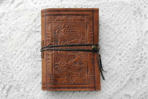 The Journeyman - Handmade Vintage Leather Journal by bibliographica