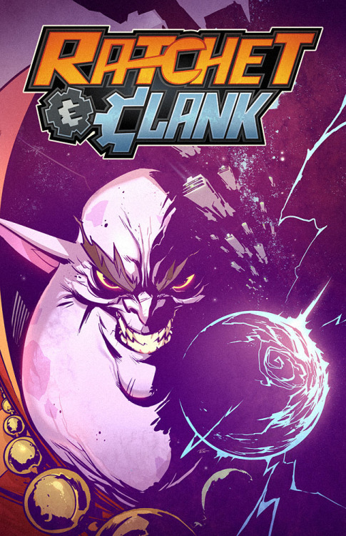 melissa182:  Ratchet & Clank comic book covers by *CreatureBox