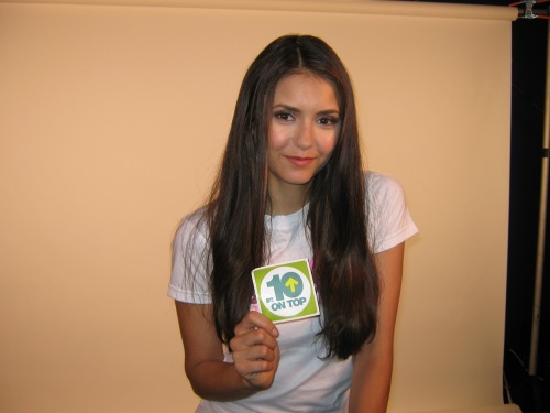 ‎#VampireDiaries star @NinaDobrev talks cookies & @PUMA's Project Pink on @10onTop, Sat. 10/8 at 11:30am ET on @MTV