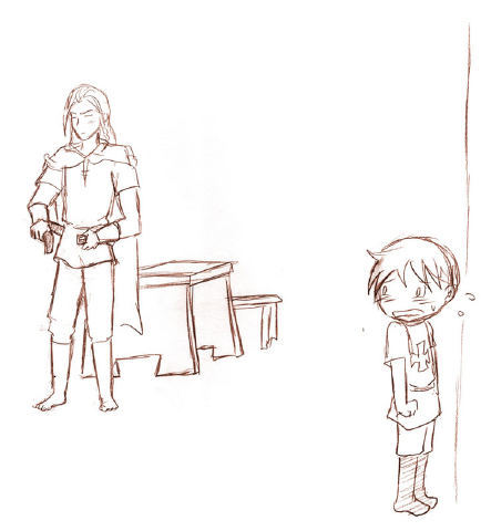 Lil Chibi Prussia in Trouble with Vati… (ROUGH SKETCH) seriously this could be applied to any situation…I did this sketch a while back and just never really did anything with it…sometimes I just get in the mood to draw Chibi Prussia randomly in trouble LOL