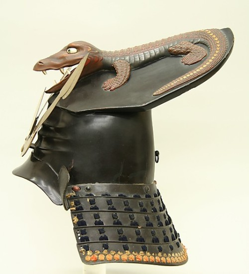 17th century helmet via The Metropolitan Museum of Art