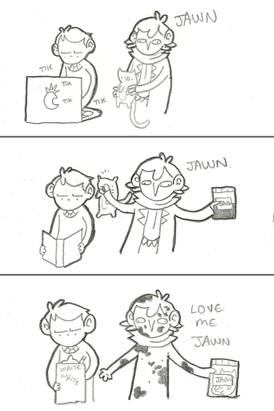 A recent Sherlock jam fetish comic. One of many by Geothebio on Tumblr, a popular Sherlock crack fanartist.