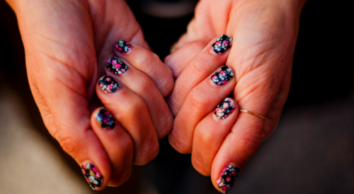 spring on your nails.