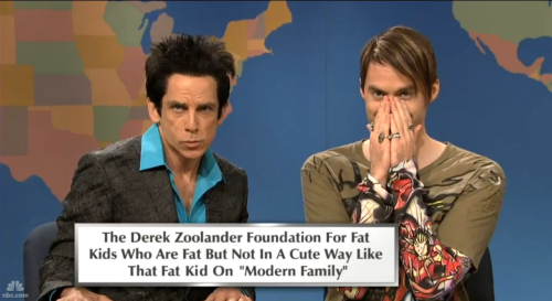 djkai:  Derek Zoolander and Stefon on Weekend Update