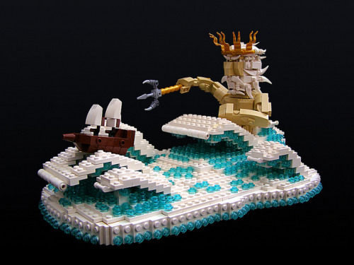 Poseidon Float by Legohaulic on Flickr.