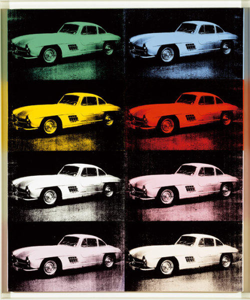 #pop julienfoulatier:  Painting by Andy Warhol.