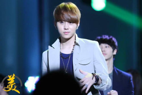 musicallychaotic:  Junhyung @ 2011 KPOP Cover Dance Festival Finals on 03rd Oct 2011