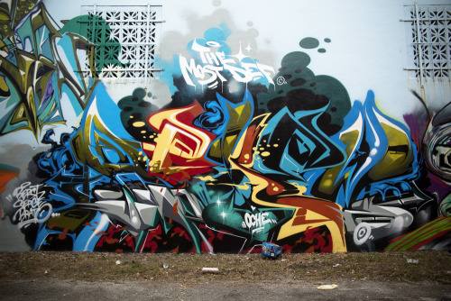 My piece from a Wall in Wynwood,Miami painted with a bunch of the MSG crew…