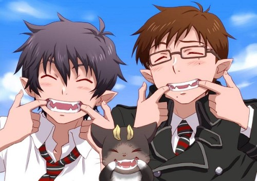 lolz their teeth are alike XD