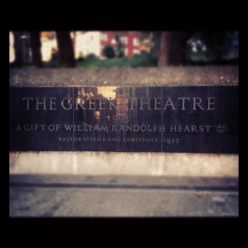 The Greek Theatre, UC Berkeley. (Taken with instagram)