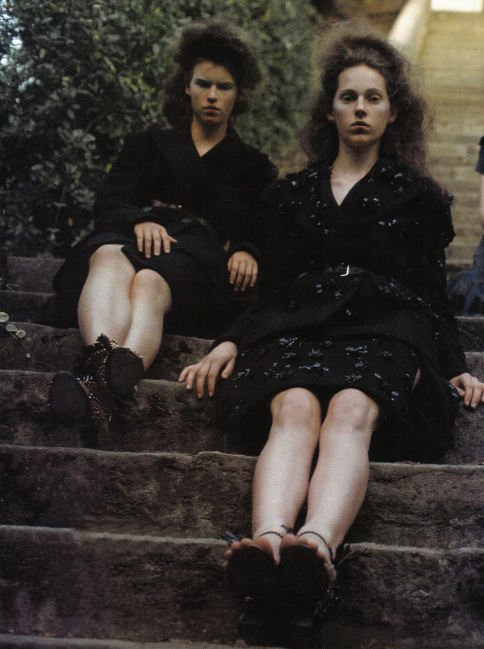 Vogue Italia October 2009, Variations On Chic, by Deborah Turbeville